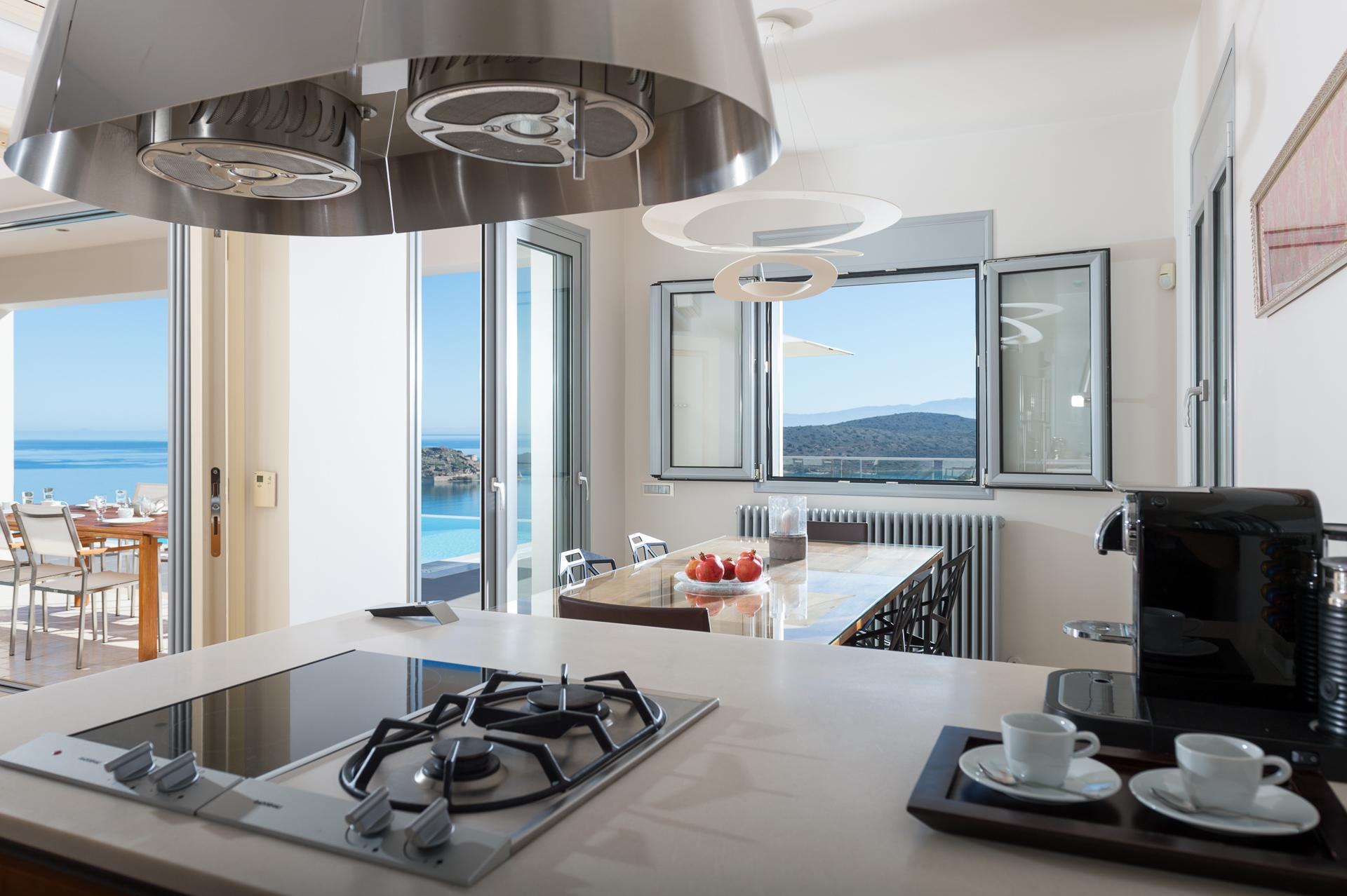 Elounda luxury design villa
