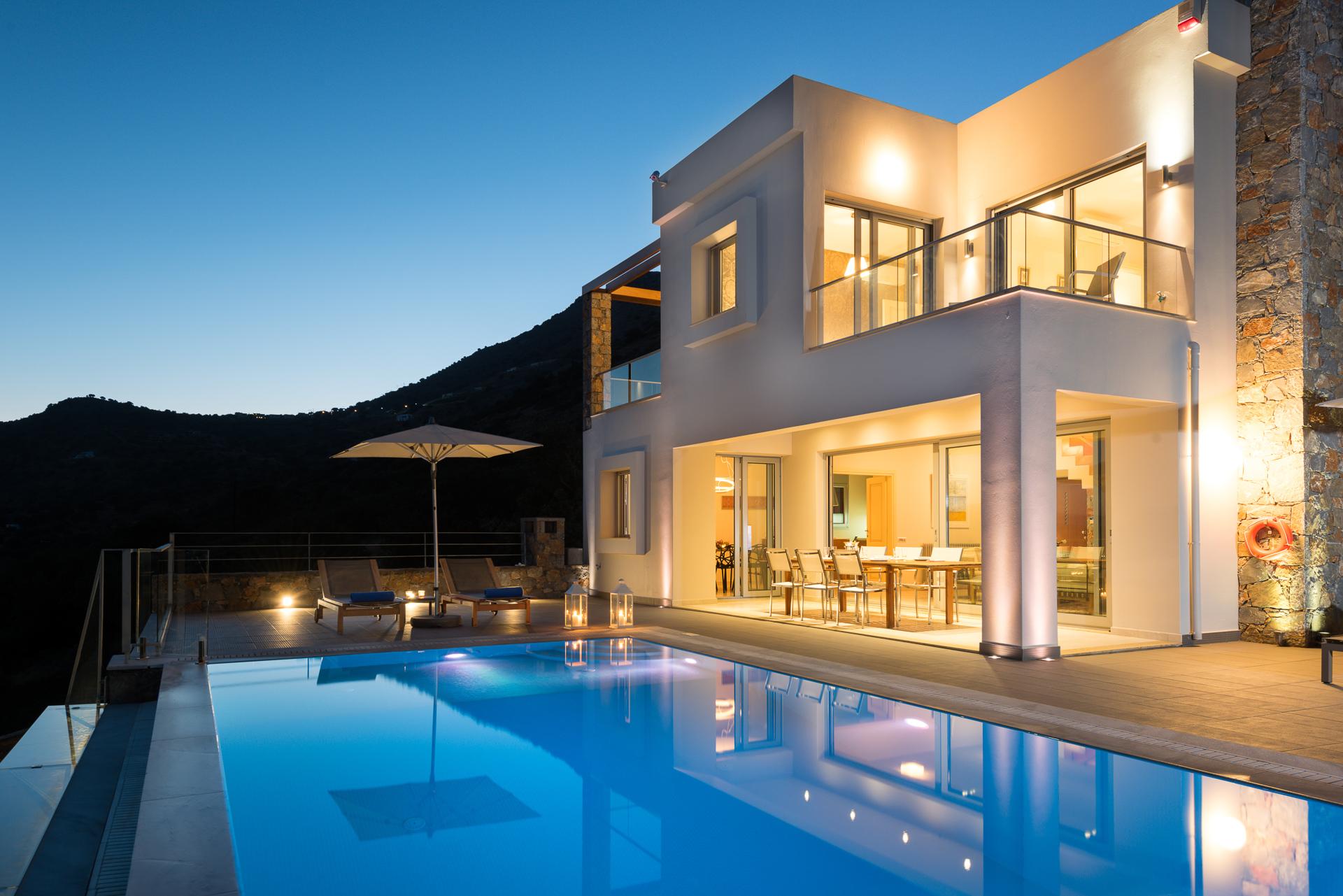Elounda luxury villa with private pool